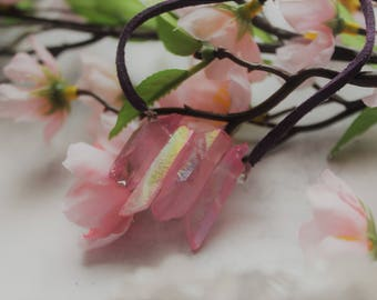 Cluster Crystal Necklace
