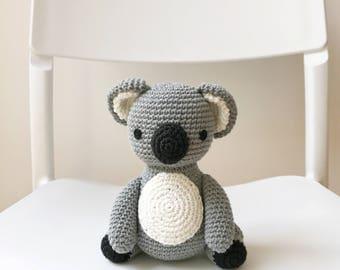 KOALA crochet amigurumi, Crochet koala, amigurumi koala, koala gift, crochet toy koala, koala baby gift, koala toy, koala kids gift