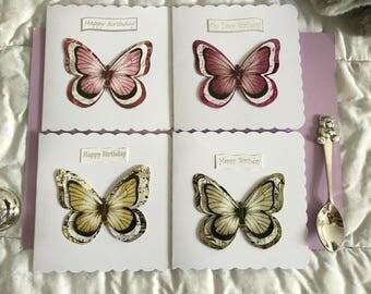 3D Butterfly, 3D Butterflies, Butterfly, Birthday Butterfly, 3D Birthday Butterfly, Birthday Card, Birthday Cards, Happy Birthday Card