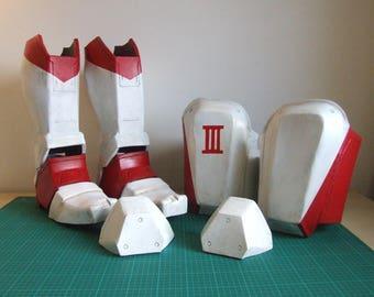 PDF, Foam Template for Destiny 2 Titan Parade Boots / Legs