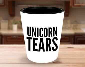 Unicorn Shot Glass - Unicorn Tears Shot Glasses - Cute Shot Glass - Girls Shot Glasses - Unicorns - Unicorn Party