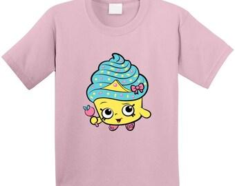 Shopkins Cupcake Queen T Shirt
