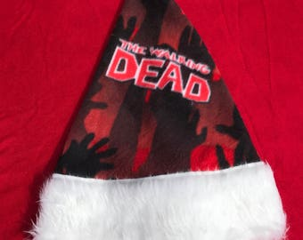 The walking dead, holidays, christmas hats, show, walking dead