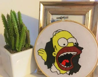 HOMER SIMPSON - The Simpsons Embroidery