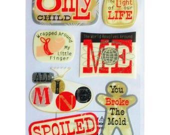 Stickers baby Sticko 17 x 10 cm creative cardmaking scrapbooking