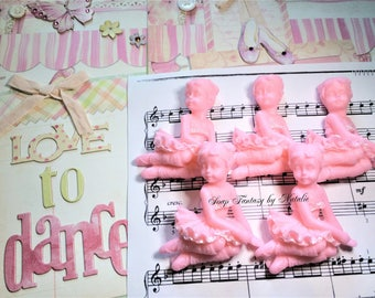 5 Ballerina Soaps,Dancer Soap,Party Favor,Birthday Party Favor, Baby Shower Favor.