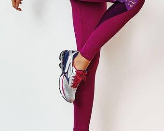 Caju Brasil Fashion Emana Laser Workout Leggings