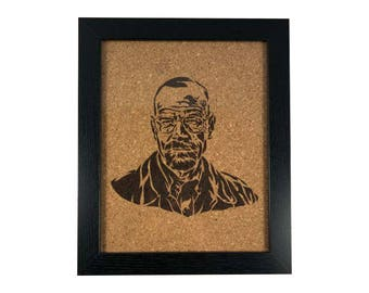 Walter White - Breaking Bad | Cork Art