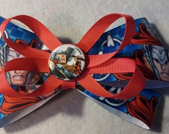 Thor hair bow