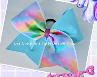 RAINBOW Cheerleading Bow