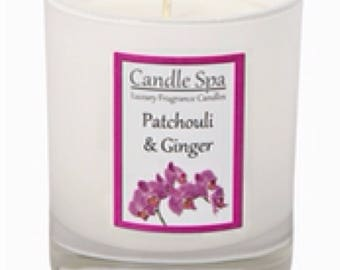 20cl (120g) candle - Patchouli & Ginger