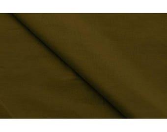 Khaki plain polycotton