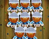 Viking Cupcake Toppers