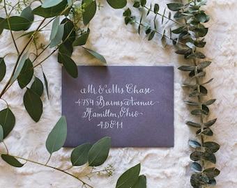 Calligraphy Envelope / Wedding Invitation Calligraphy / Custom Calligraphy Envelope / Address Calligraphy / Custom Envelopes