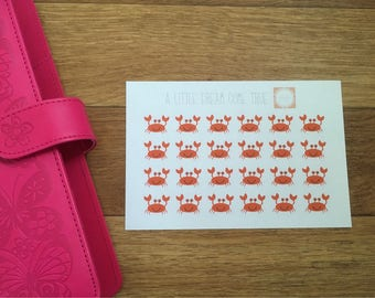 Crab Stickers