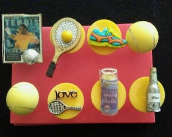 Tennis Push Pins