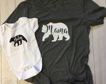Baby Bear bodysuit Onesie tee shirt
