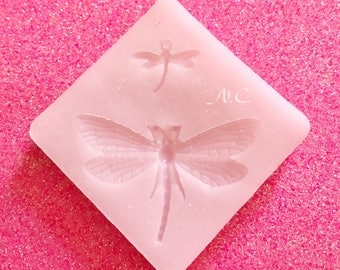 Flexible silicone mold Dragonfly Dragonfly Charm