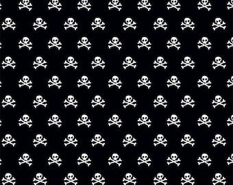 Black Military Skulls by Military Max from Riley Blake 112cm (w) x 25cm