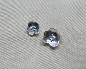 Small or Large Poppy Post Earring
