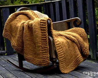 Chunky Knit Blanket Throw Blanket Merino Wool Blanket Knit Baby Blanket Super Chunky Knit Blanket Chunky Knit Throw Knit Blanket Giant Knit