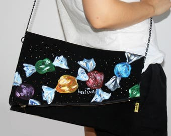 Evening bag, Evening purse, Evening clutch, Clutch purse, Clutch bag, Bridesmaid clutch, Bridesmaid bag, Bridesmaid wristlet, Bridal clutch