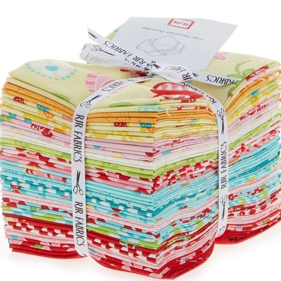 Bugsy fat quarter bundle by kids quilts for rjr fabrics for Childrens fabric bundles