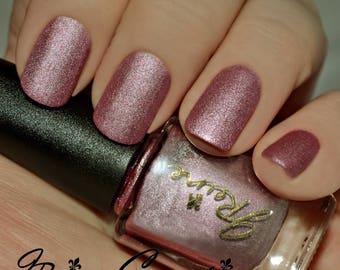 Taffy Metal - Pink Metallic Matte Nail Polish