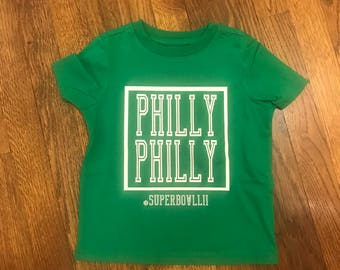 Philly Philly Super Bowl Lii Child's Shirt