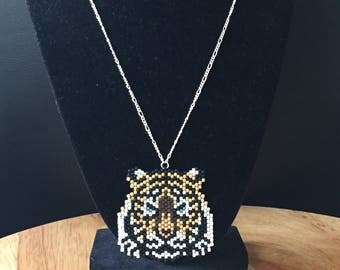 Tiger pendent necklace