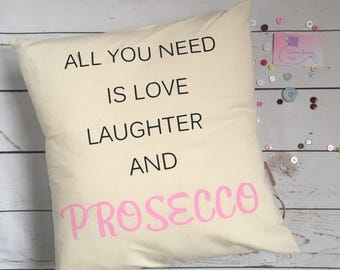 Rutstic quote cushion, personalised cushions