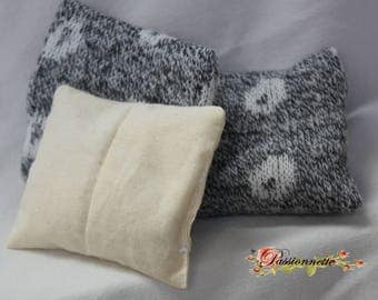 Small hot / dry rice woolen heaters, handmade