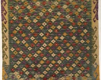 Afghani Wool Kilim-Hand Made
