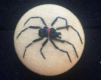 Black widow badge!