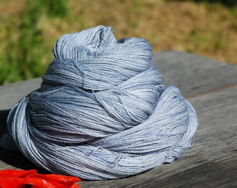 Shiraai | Hand Dyed Lace Weight Yarn 1200m/100g Extra Fine Merino & Silk