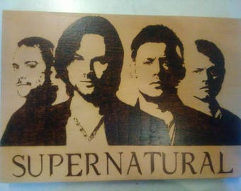 Supernatural wall hanging