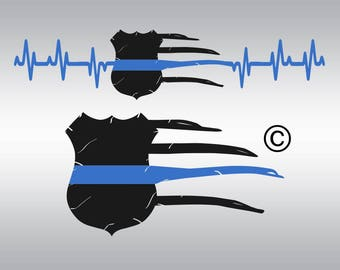 Thin blue line svg, Police svg, Back the blue svg, Police badge svg, SVG Files, Cricut, Cameo, Cut file, Files, Clipart, Svg, DXF, Png, Eps