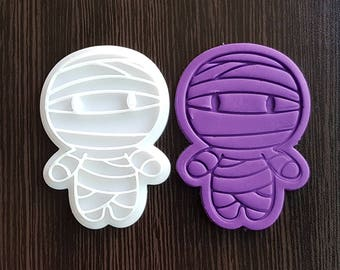 Mummy Cookie Cutter and Stamp