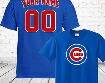 Chicago cubs shirt etsy for Custom shirts fast delivery