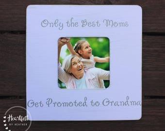 Grandma Picture Frame Gift for Grandmother Grandma Nana New Grandma Gift from Grandchild Custom Picture Frame Grandma Birthday Gift