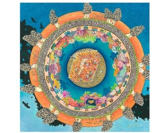 "Collective Consciousness - 13x17"" Original Art Print"