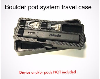 BOULDER pod vape system travel case
