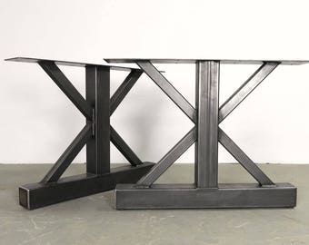 Metal Table Legs,Metal Table Base,Steel Table Legs,Very Original Stunning Design,Custom Sizes,Handmade.