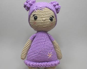 Violeta crochet doll