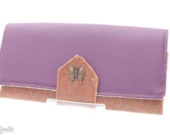 Wallet Wallet Purse-opal-purple