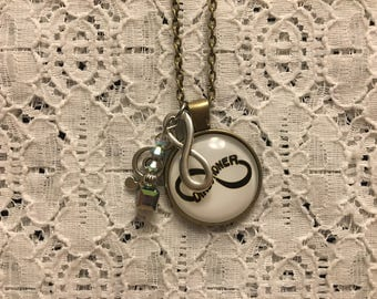 One Direction Charm Necklace/One Direction Fan Gift/One Direction Jewelry/One Direction Pendant