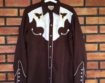 Sale Sale Sale Vintage H Bar C California Ranchwear Western Shirt