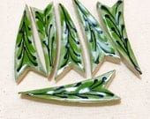 Plume Leaves Handmade Mos...