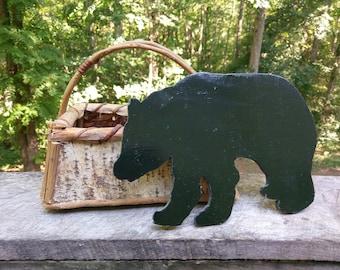 Cabin Decor Bear Cutout
