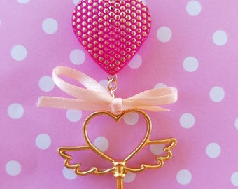 Key to my Heart Charms